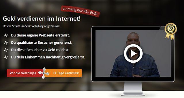 online einkommen 24: Netztninjas
