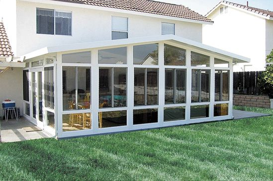 25 best ideas about four seasons room on pinterest for Sunroom plans free