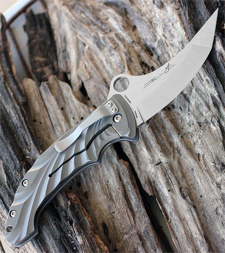 Spyderco Tighe Stick Plain Edge EDC Folding Knife with 3.90 Blade - Everyday Carry Gear