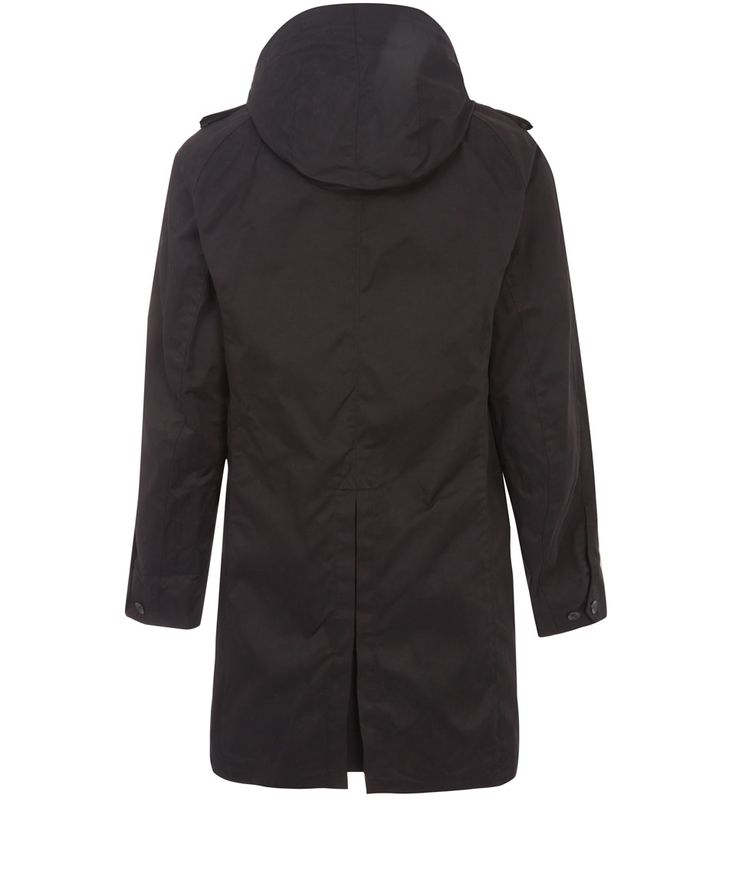 Rag and Bone Black Hooded Parka | Men's Jackets | Liberty.co.uk
