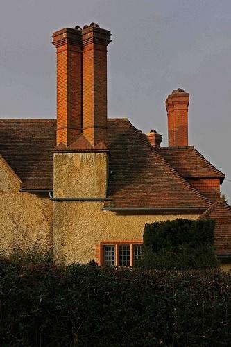 Goddards - Rear of property - E.L. Lutyens, Architect