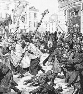 a history of the anti jewish riots of alexandria The alexandrian pogrom , or alexandrian riots , were attacks directed against jews in 38 ce in roman alexandria , egypt the sole source is philo of alexandria , himself a jew, who witnessed the riots and afterwards led the jewish delegation to the roman emperor caligula , and requested the re-establishment of legal jewish residence in alexandria.
