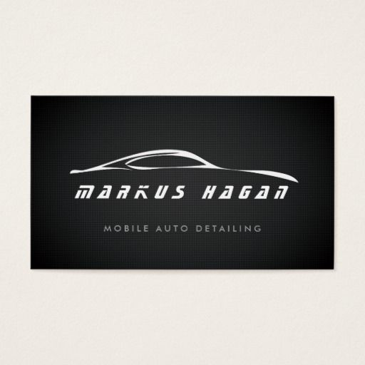 269 best auto detailing business cards images on pinterest auto auto detailing auto repair business card colourmoves Images