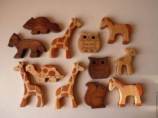 Игрушки животные, ручной работы. Ярмарка Мастеров - ручная работа. Купить Деревянные игрушки. Handmade. Фигурка из дерева, деревянная игрушка