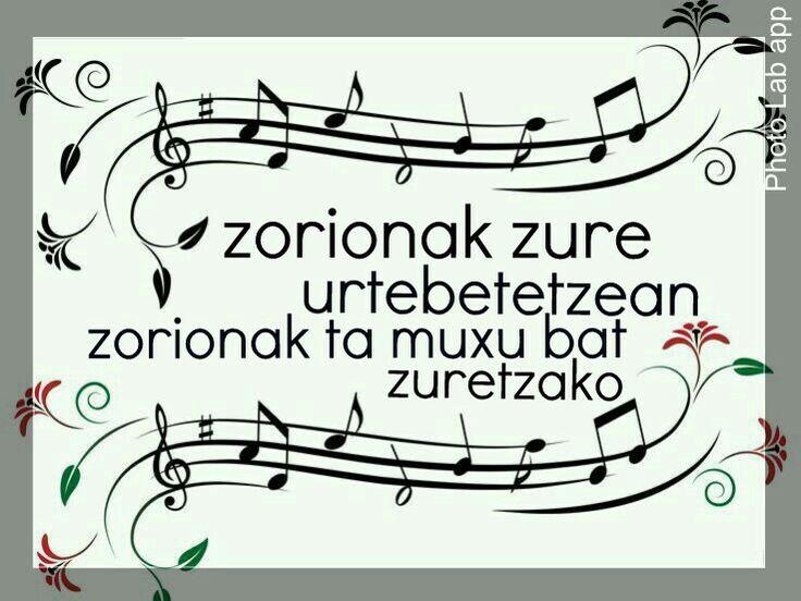 Zorionak..