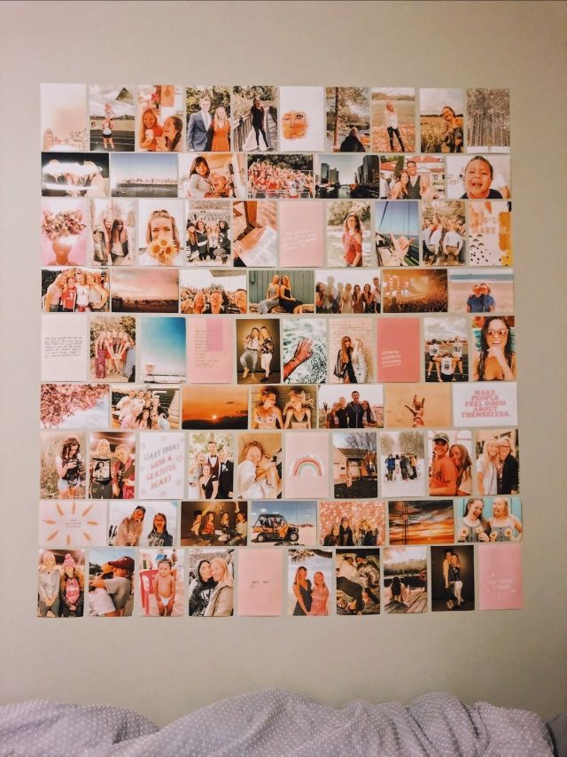 Typical Dorm Room: Cool Dorm Rooms, Picture Collage Wall