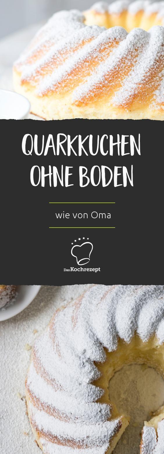 Quarkkuchen (ohne Boden) wie von Oma