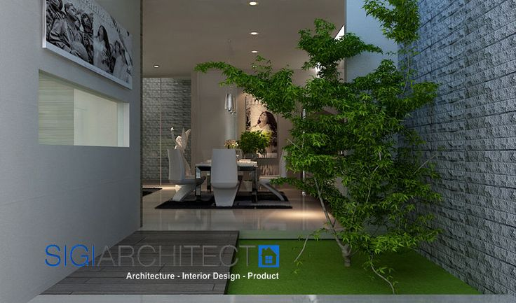 interior modern minimalis_foyer