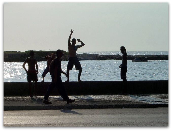 El Malecón, lugar de ocio y diversión para todos