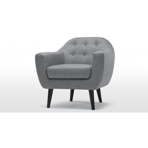 Ritchie Armchair in pearl grey | made.com