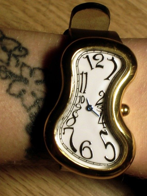 persistence of memory watch by AGORAPHOBE on Etsy