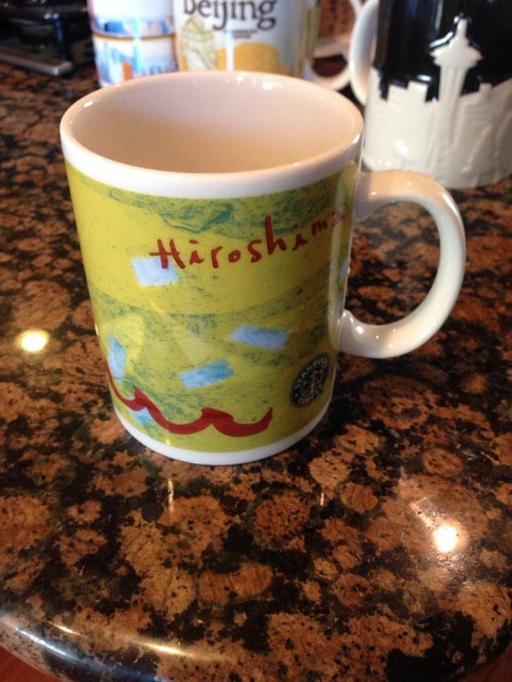 Rare 2009 Original Starbucks Hiroshima City Mug Collectable Mug #Starbucks