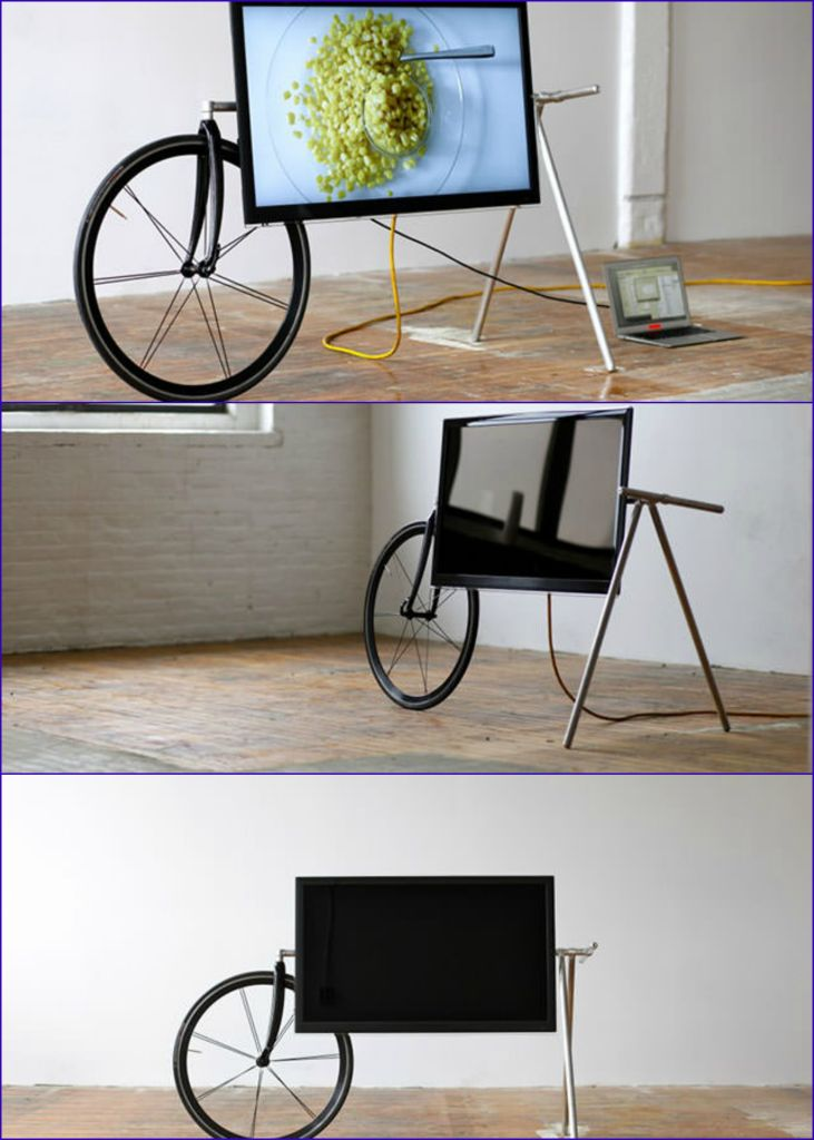 Wow! Unique Portable TV Stand by Taylor Levy and Che-Wei Wang