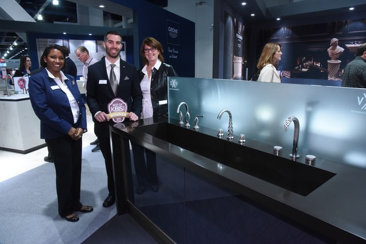 Best of KBIS 2016 - #BOK2016 - Best in Bath - Gold Winner - @dxv by American Standard's Vibrato Faucet