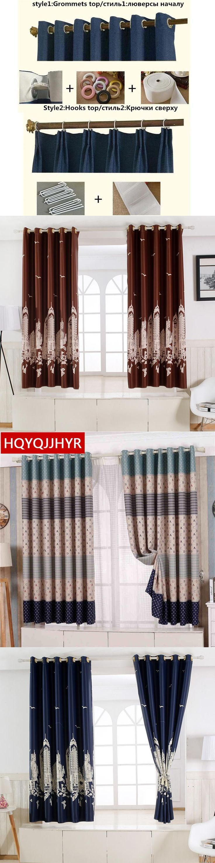 20 models of Modern full blackout curtains thick short for Living Room  Window curtain Bedroom kitchen