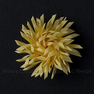 double fringed flowerFringes Flower, Quilling Fringes, Handmade Flower, Paper Flowers, Flower Earlier, Flower Tutorial, Paper Crafts, Flower Diy, Double Fringes
