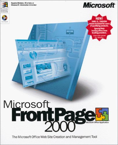 Microsoft 392-00492 Microsoft FrontPage 2000 [OLD VERSION]
