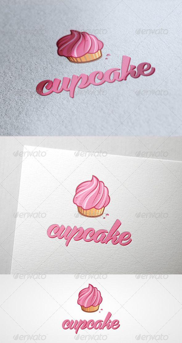 Cupcake Logo Design Template Vector #logotype Download it here: http://graphicriver.net/item/cupcake/6139970?s_rank=43?ref=nexion