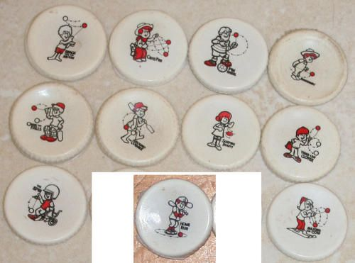 Vintage Toys - COCA COLA COKE RUSSELL South Africa 1980s YO-YO Competition…