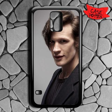 Matt Smith Is Doctor Who Samsung Galaxy S5 Black Case