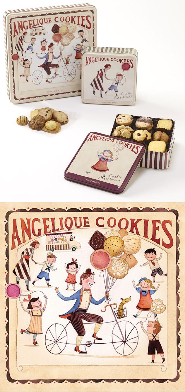 Janice Nadeau - Blog - Boîtes à biscuits!