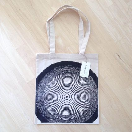 Annual ring totebag | Weecos