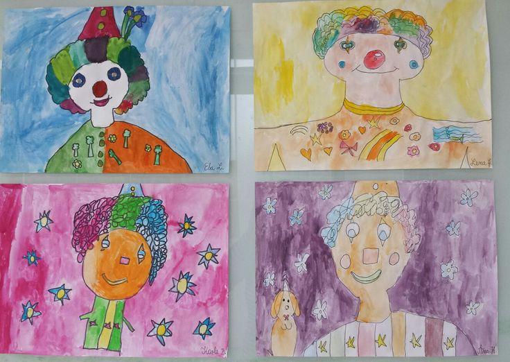Osnovne i izvedene boje;1. razred