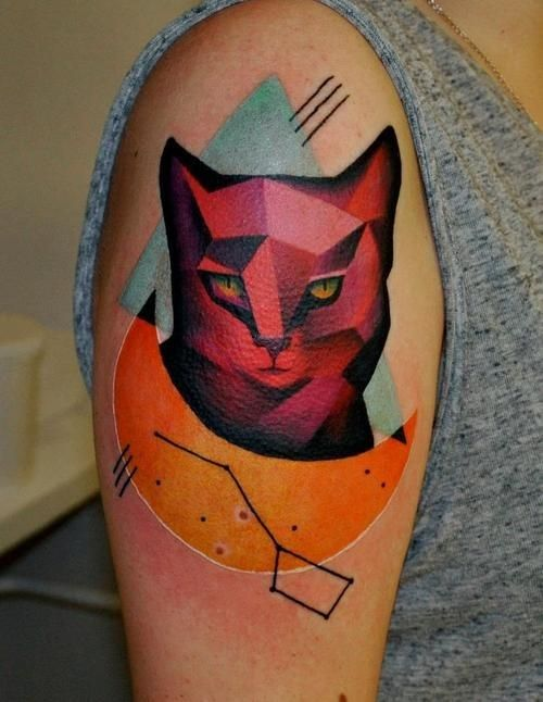 Best Tattoo Artist Voller Kontrast Images On Pinterest - Artist creates amazing animal tattoos with digital pixel glitches
