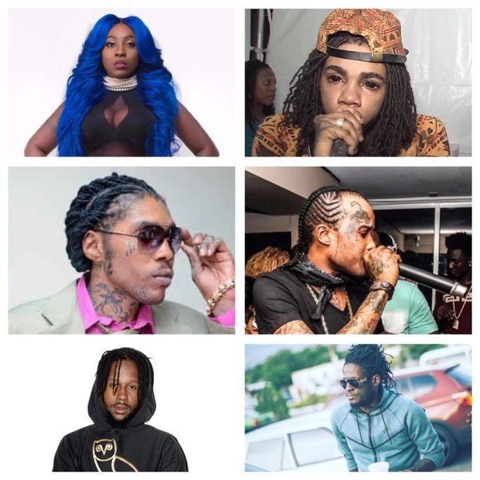 A look back at 2017 🎶dancehall🎶 winners🔥 Who took 2017? and explain why that artist took the year!!  Anyone who should have made the list??? State! #keepupdated #follow #correctmedia  #spice #alkaline #vybzkartel #tommyleesparta #popcaan #aidonia #music #jamaica #tagtheartist