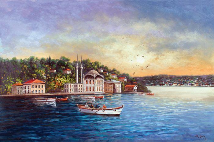 İstanbul Tabloları İST 021