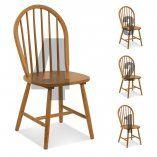 Cadeira de Madeira Maciça Windsor (conjunto de 4 cadeiras)