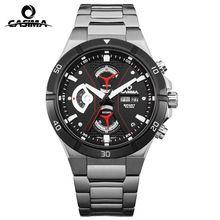 CASIMA luxury brand men sport watch fashion elegence mens quartz wrist watch Male luminous clock hours waterproof 100m relogio(China (Mainland))