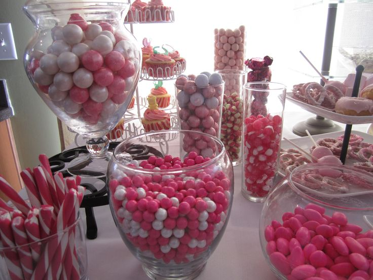 Baby Shower/Pink Candy Buffet