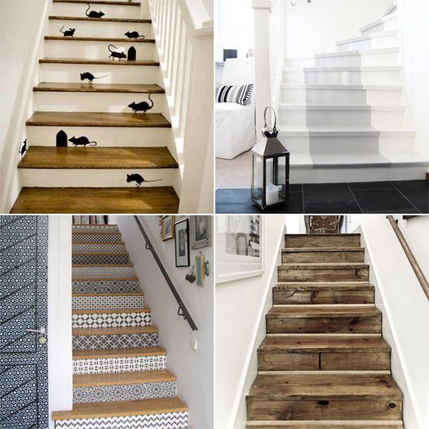 17 beste idee n over binnen buiten kleden op pinterest foyers portiek en huisingang - Hoe een trap te kleden ...