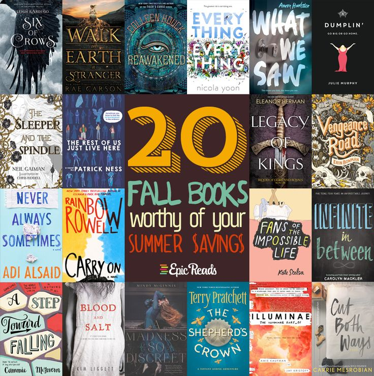 20 Fall Books Worthy of Your Summer Savings