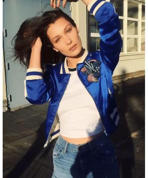 Le gif boomerang de Bella Hadid sur Instagram