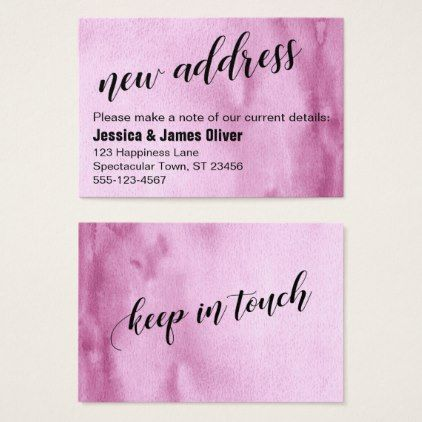 Best 25+ New address cards ideas on Pinterest Change of address - free change of address form online