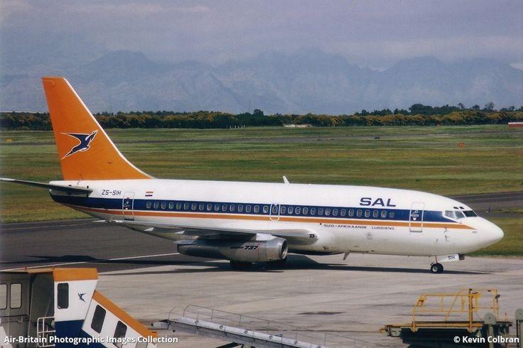SAA Boeing 737-244 DF Malan Airport Cape Town