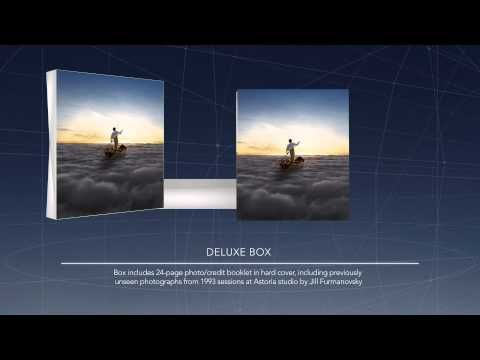 Pink Floyd - The Endless River - cool marketing of their latest album