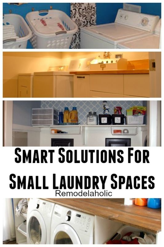 Smart Small Laundry Room Organization Room