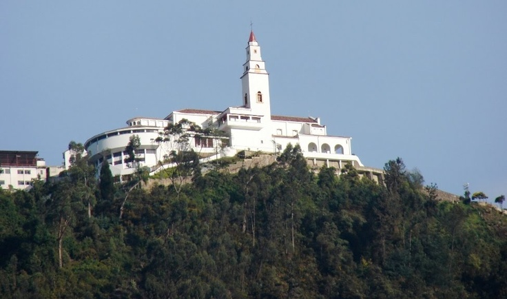 Cerro de Moserrate, bogota Colombia