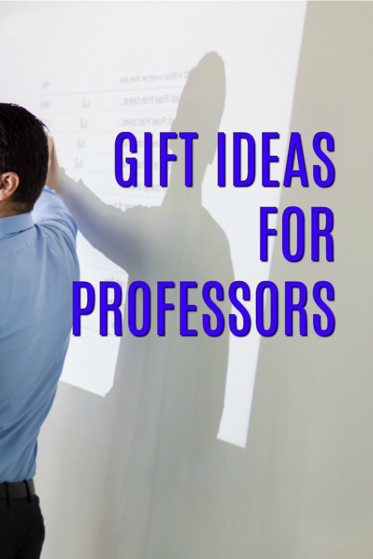 Gift Ideas for Professors | Christmas present for a professor | What to buy a college instructor | Thank you gifts for Profs #thankyougifts
