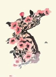 Korean tattoo - rose of Sharon ! Wow this would be amazing on my back