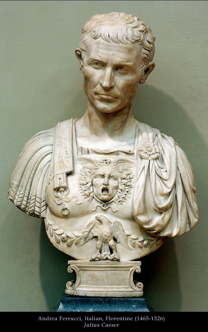 Gaius Julius Caesar played a critical role in the gradual transformation of the Roman Republic into the Roman Empire.