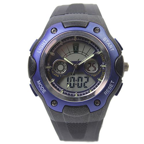 S-Shock LED Digital Mens Army Watch