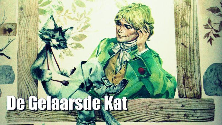Heerlijke muzikale versie van het luistersprookje De Gelaarsde Kat met fraaie illustraties uit de Lekturama Wereldberoemde Sprookjes boekenserie.