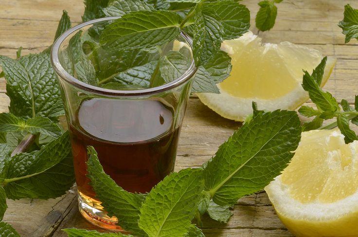 liquore alla menta #ricettedisardegna #recipe #sardinia
