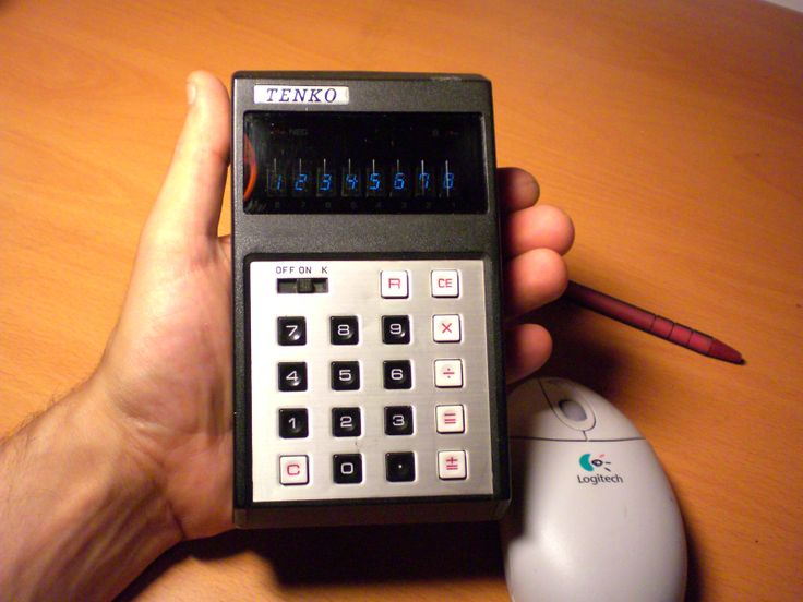 Tenko ECL-81 from 1975 Pocket Calculator