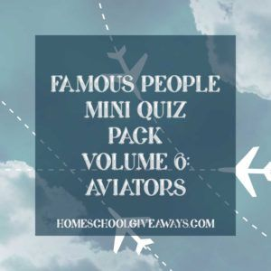 FREE Famous People Mini Quiz Pack Volume 6 – Aviators. What do Patrick Gordon Taylor, Charles Kingsford Smith, Billy Bishop, and James Doolittle all have in common? This Famous People Mini Quiz Pack explores the lives of these four aviators through three fun quizzes. Learn about these men, their role in history, and what the world was like in their day with this mini quiz pack that is perfect for upper middle school and high school students. - WriteBonnieRose.com