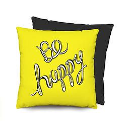 Cojín Be happy (desde $55.000)
